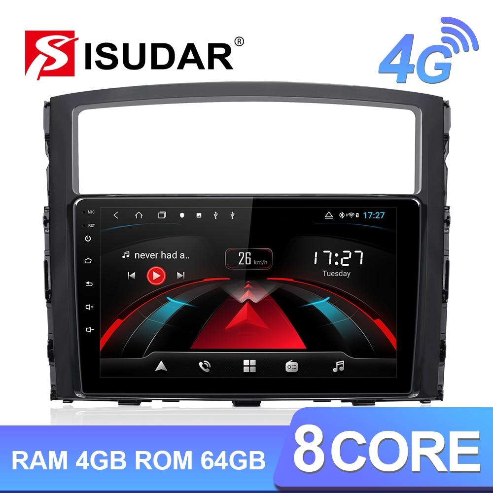 Isudar H53 4G Android 1 Din Auto Radio per Mitsubishi/Pajero 2006 2014 Car Multimedia 8 Core di Ram 4 Gb di Rom 64 Gb di Gps Della Macchina Fotografica Dvr Ips