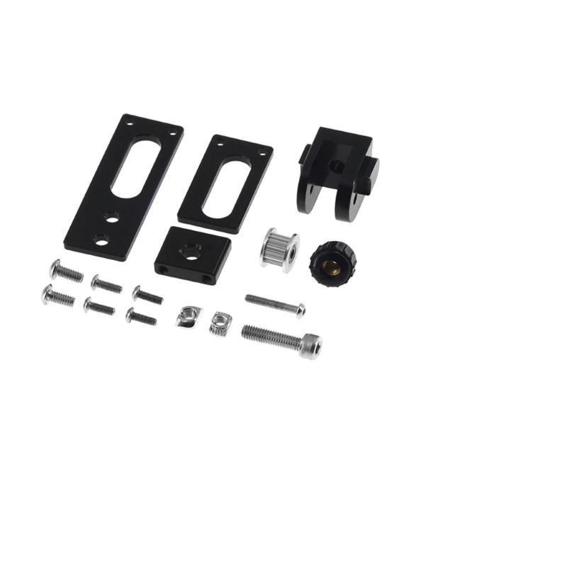Upgrade 2020 V Slot Profile X axis Synchronous Belt Stretch Straighten Tensioner 3D Printer Parts & Accessories     - title=