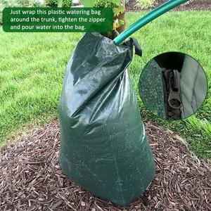 Мешок для полива деревьев, 20 галлонов, хит лета, медленно высвобождаемый мешок для полива дерева, мешок для капельного орошения, уменьшает в...