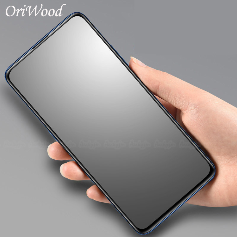 For OPPO F11 F9 Pro F7 F5 Matte Frosted Tempered Glass For OPPO F11Pro F11 Pro Anti No Fingerprints Full Cover Screen Protector