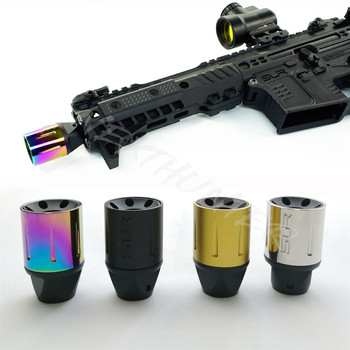 TOtrait Alloy CCW SLR SLH 14mm Negative Thread Barrel Brake Cap Airsoft AEG GBB AR15 M4/M16 Airgun Paintball Accessories