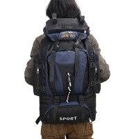 Foreign Trade Wholesale Outdoor Backpack 70l80l Large Capacity Mountaineering Bag Backpack Travel Shoulder Big Knapsack