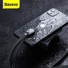 Baseus Mobile Phone Lanyard Hanging Neck Strap For iPhone 11 Pro Max XR XS X Universal Strap Neck Lanyard For Samsung Galaxy S20(China)