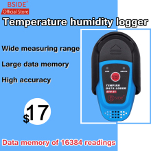 BSIDE BTH81 Relative Humidity Temperature Recorder TEMP/RH Data Logger Thermometer Hygrometer Moisture Meter with USB usb temperature humidity data logger thermometer hygrometer recorder meter interface pc industrial temperature instrument