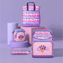 School-Bags Uek for Girls Pink Large-Capacity Primary Elementary Backpack Oxford Waterproof