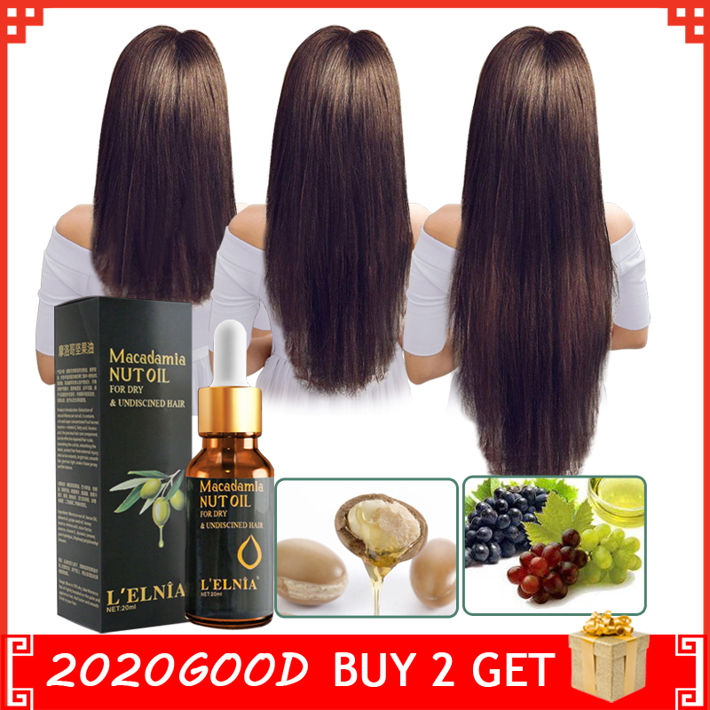 Macadamia Nut Oil Hair Loss Product Authentic 100% Essence Treatment For Men And Women Dry And Damaged Hairs Nutrition Hair Care