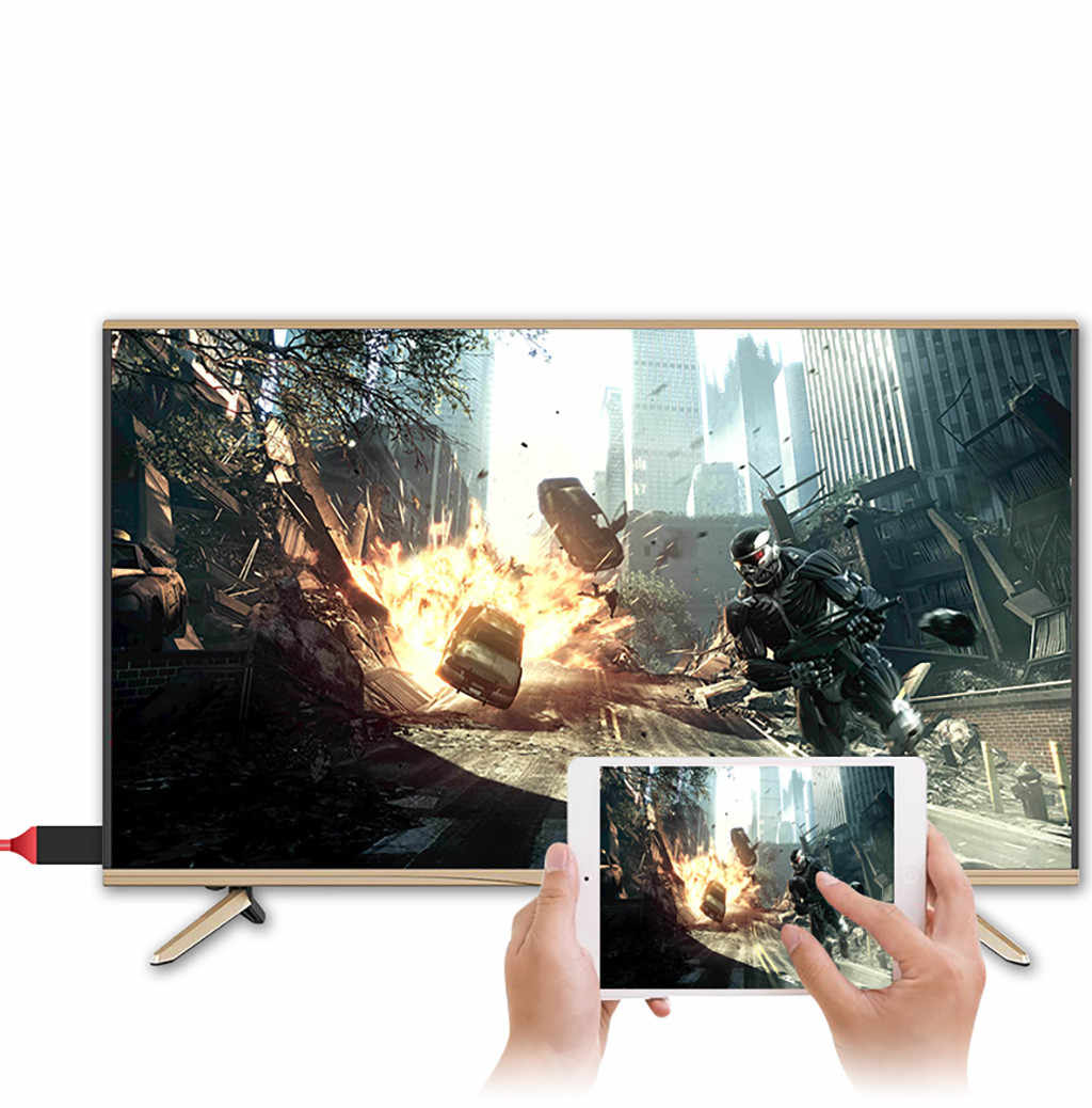 HDMI кабель системы освещения Micro USB к HDMI конвертер кабель AV HD tv для IOS для iPhone iPad для MHL Android Phone