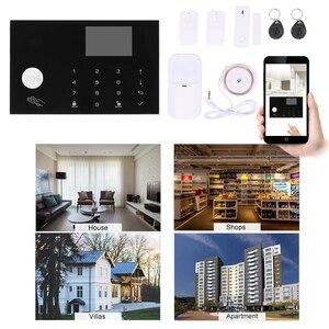 Image 4 - Smart Home WiFi GSM ALARM System รีโมทคอนโทรล Autodial 433MHz APP/Vocie Control Touch แป้นพิมพ์ Amazon alexa