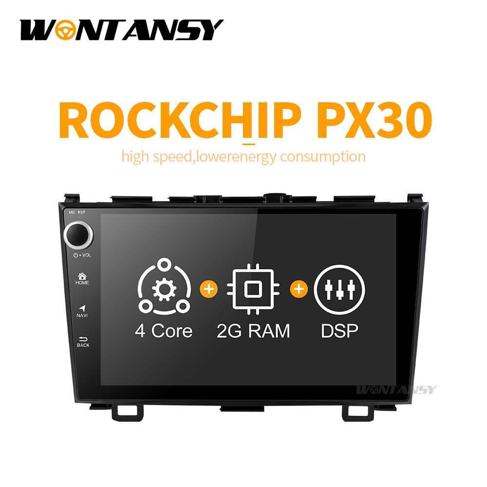 アンドロイド 9.0 PX30 車 dvd gps のプレーヤー CRV CR-V カーラジオの gps ナビゲーションインテリジェントシステムマルチメディアプレーヤー
