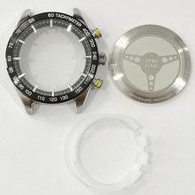 Piezas de reparación de espejo de cristal de zafiro, carcasa trasera de reloj, acero inoxidable, para T461/T035627A/T099407A/T044417A/T100417A