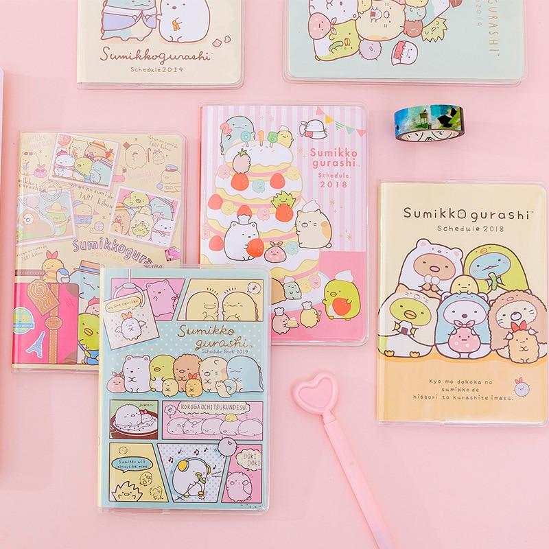 Kawaii Sumikko Gurashi Girl Heart Notebook Diary Book Exercise Bullet Journal Notepad Gift Stationery