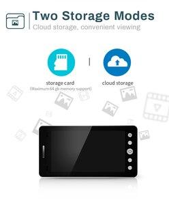 Image 3 - Wifi אלחוטי דלת בל 5 אינץ חור ההצצה Viewer מצלמה צג עבור חכם בית פעמון עם צג גלאי ראיית לילה