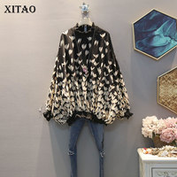 XITAO Chiffon Print Pattern Blouse Fashion New Women 2020 Spring Full Sleeve Pullover Elegant Minority Casual Shirt GCC3233