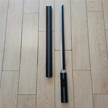Cosplay anime na katana novo estilo preto zaozhi espada arma prop papel jogando plutônio 95cm modelo prop arma