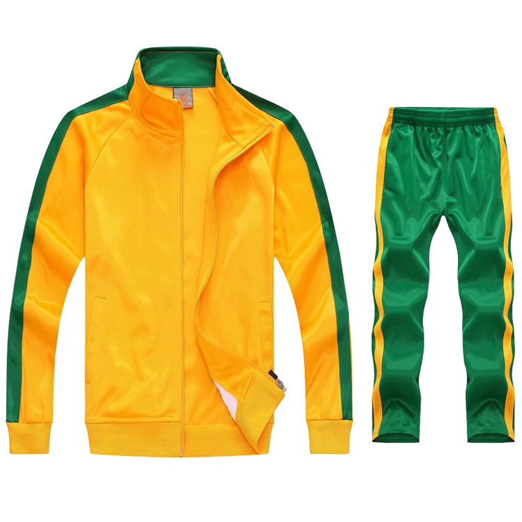 Spring Autum Tracksuit Men Team Track Suit Zip Track Jacket Sweatpants Joggers Man Sportswear Jogging Set Casual