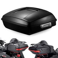 Triclicks 5.5'' Razor Luggage Pack Trunk For Harley Touring Road King Electra Glide 2014 2018