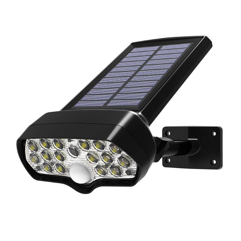 Solar Shark Floodlight LED Garden Lamp Waterproof Outdoor Courtyard Street Light Lighting Area up to 6 Meters Radius Widely|Solar Lamps| |  - title=