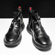 Мужские осенне зимние высокие ботинки martin в британском стиле