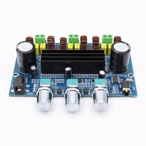 Image 4 - 2*50 Вт + 100 Вт Bluetooth 5,0, двойной усилитель мощности TPA3116D2, сабвуфер, плата 2,1 канала, TPA3116, аудио, стерео, эквалайзер, AUX Amp