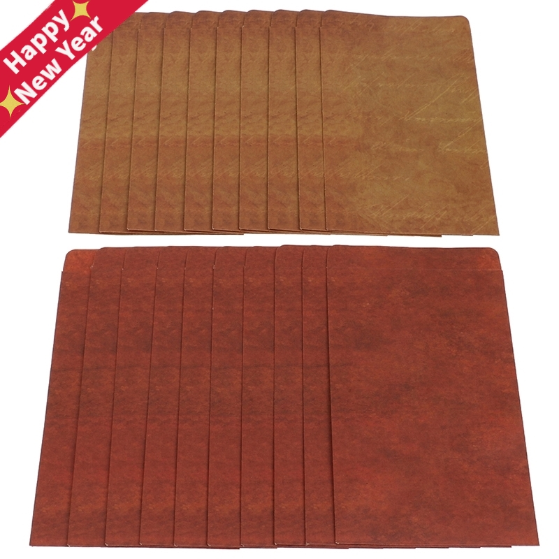 10Pcs Retro Vintage Envelope Kraft Paper Envelopes DIY Decorative Envelope Small Paper School Office Supplies