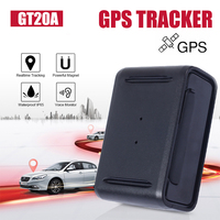 Vehicle GPS Tracker GPS Locator MINI GPS Tracking Device Overspeed Alarm Voice Monitor 1500mA GT20A Portable