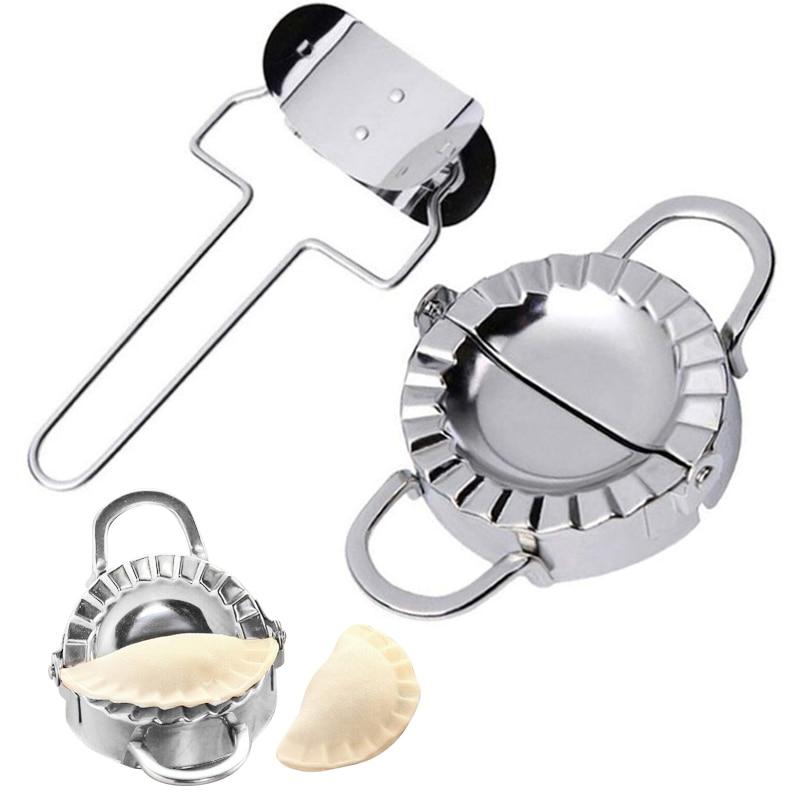 #2 Pcs Vareniki Pierogi Maker Form Ravioli Mold Press Machine Pelmeni Pastry