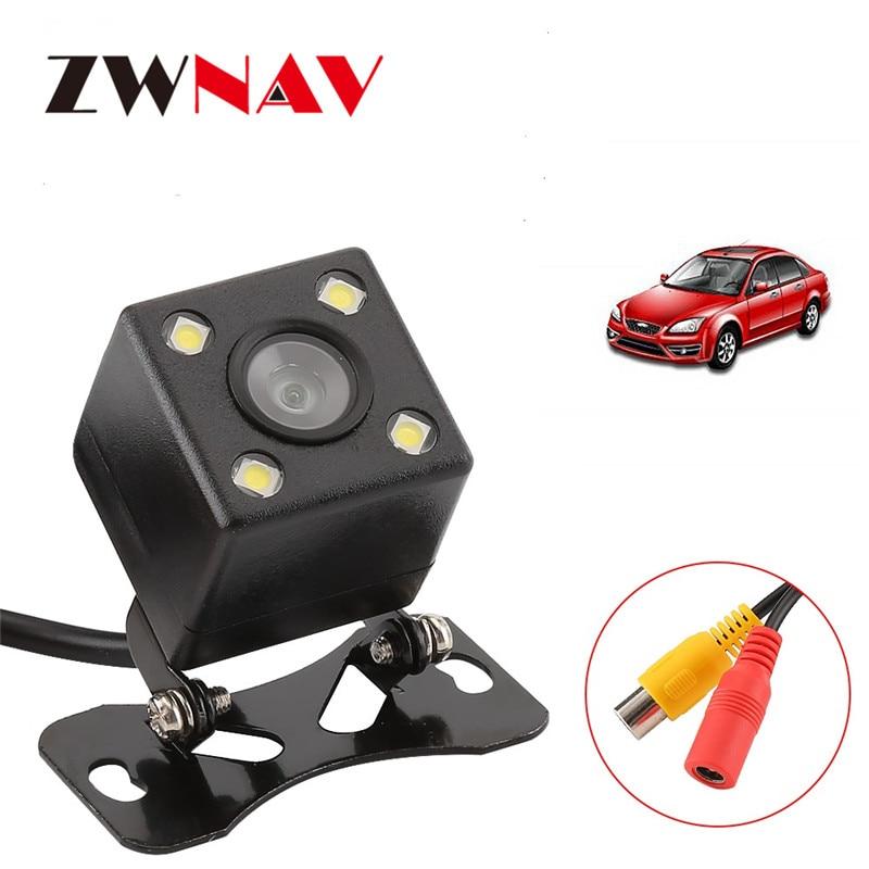 ZWNAV Hot Sale HD Universal Waterproof Car Rear View Camera Reverse Backup Car Backside Parking back up Camera