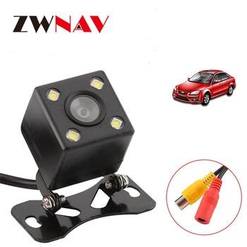 ZWNAV Hot Sale HD Universal Waterproof Car Rear View Camera Reverse Backup Backside Parking back up