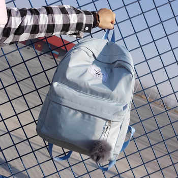 Fashion Women Backpack Pretty Style Girls School Backpack Female Waterproof Nylon Travel Backpack School Bag Mochila Satchel SAC