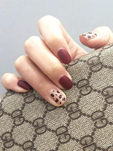 Transfer-Sticker Nail-Foil-Set Holographic Leopard Decals Decorations Flower Manicure