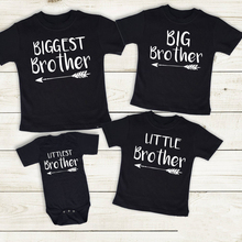 Shirts Matching 4-Sibling Newborn-Baby Summer Short for Jumpsuit