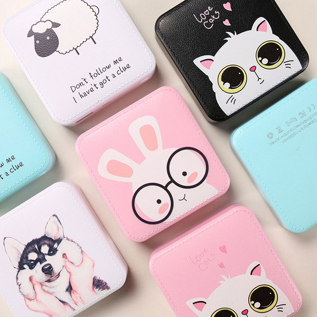 KISSCASE Cute Mini Power Bank 10000mAh USB External Battery Charger For iPhone Xiaomi Portable Powerbank For Samsung Poverbank