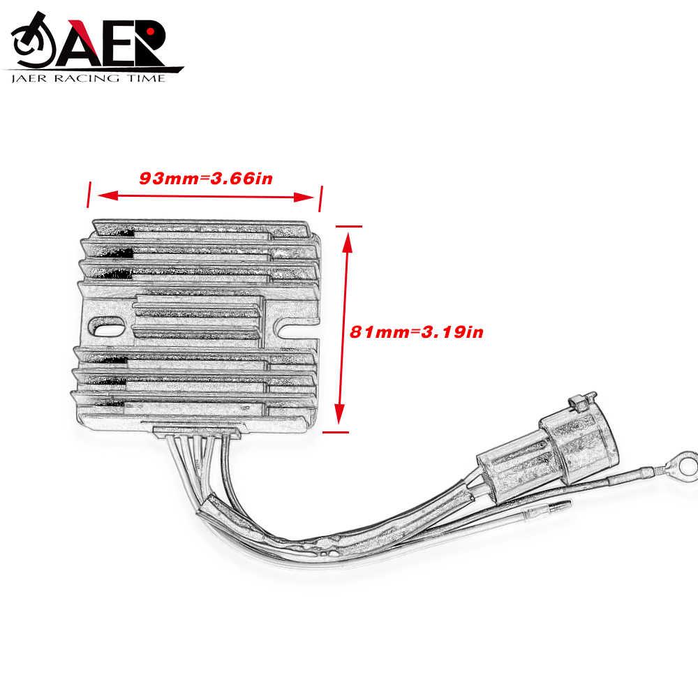 JAER мотоцикла Регулятор напряжения выпрямителя Для Yamaha F75A F80A F90A F95A F100A F100B F100B F100C лаборатории тестирования электроприборов, США (ETL) ETX 67F-81960-00