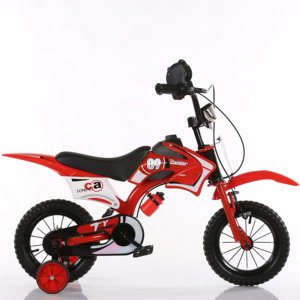 Children's simulation motorcycle bike Children bicycle 12/16