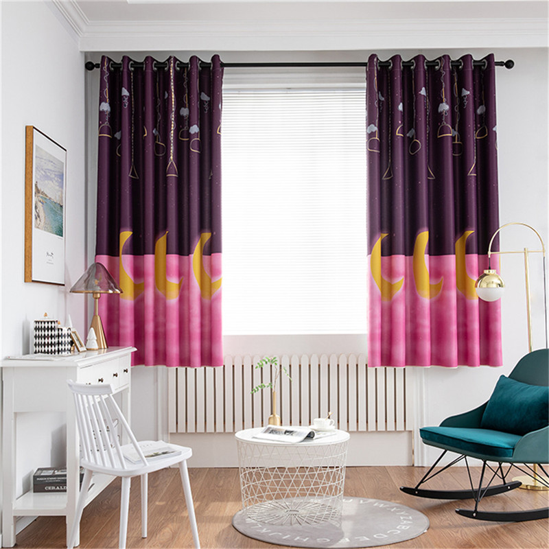 1 Panel Printing Blackout Curtains For Bedroom Living Room Curtain Adult Kid Room Curtain Home Decor Curtains