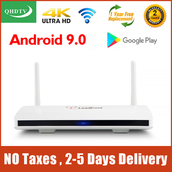4K Leadcool QHDTV Smart TV Box Android 9.0 S905W Quad Core 2G 16G Support 2.4G Wifi 1G 8G Leadcool Android Set top Box europ iptv box x96 1g 8g amlogic s905x quad core android 6 0 tv box wifi hdmi 2 0a 4k 2k marshmallow norway denmark sweden