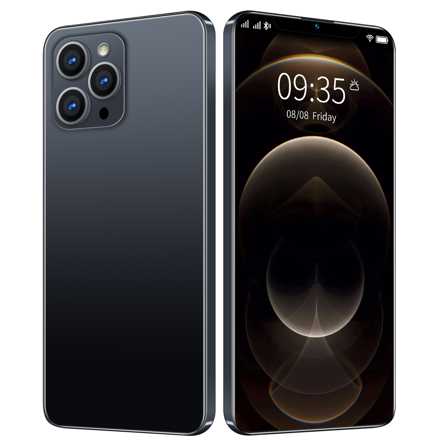 6.7inch i12 Pro Max 12 GB 512 GB 24MP+48MP 5g Cellphones Smartphones Android 10 5800mAh 10 Core Really Telephone MTK6889 Face ID 1