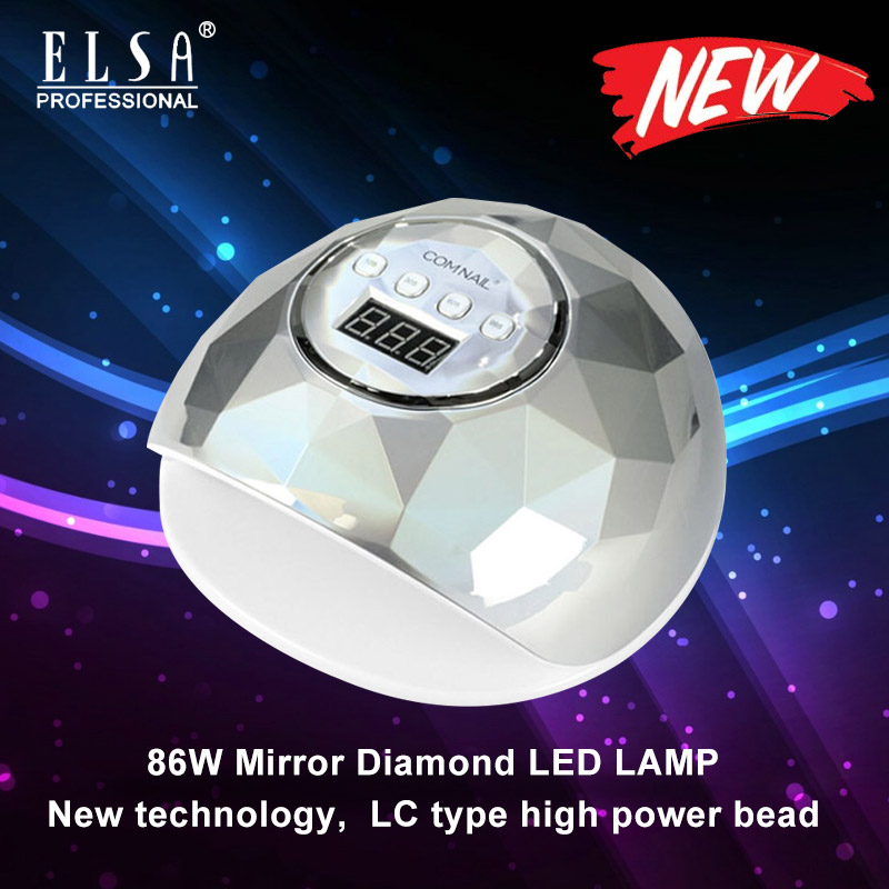 Nail Dryer For Nail LED UV Lamp 86W Nail Lamp For Manicure Drying All Gels Nail Polish Nail Art Tools Lamp for Nail image