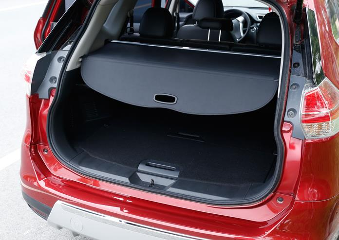 Arrière colis étagère voiture style coffre couverture matériel rideau arrière rideau rétractable Spa pour Nissan x-trail T32 2014 2019