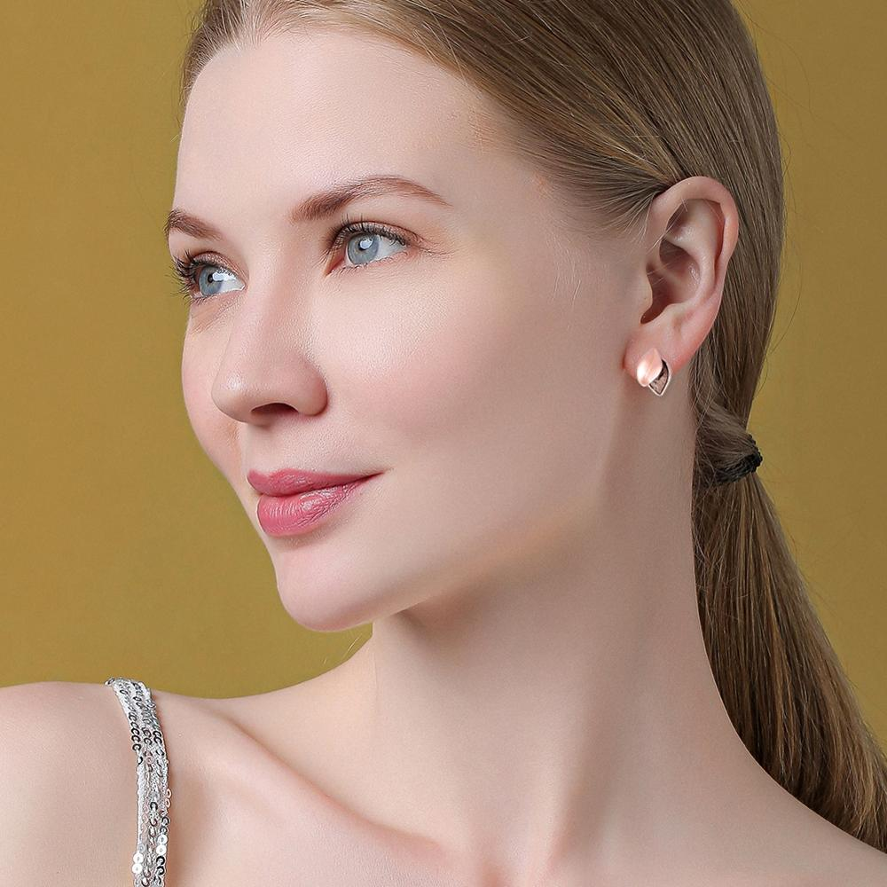 Cring Coco New Design Vintage Earrings Trends Korean Sweet Enamel Leaf Mujer Stud Earring for Women Party Wedding Accessories