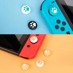 Image 4 - Silikonowy uchwyt na kciuki Cap analogowy joystick pokrywy skrzynka dla Zelda Mario przełącznik do nintendo NS Lite JoyCon kontroler Joy Con Joypad