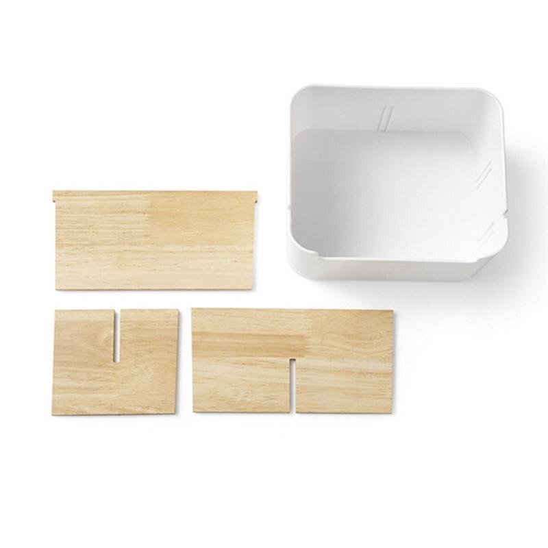 5 Compartment Storage Box Stationery Holder Table Organizer  3