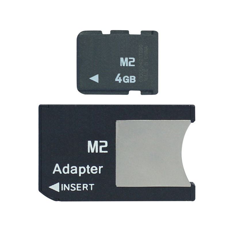 lowest price M2 with Adapter Memory Stick Micro into Memory Stick Pro Duo 512MB 1GB 2GB 4GB 8GB MS PRO DUO