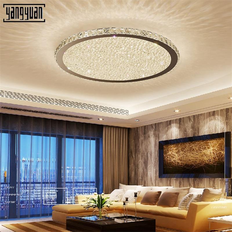 Modern LED ceiling Lights ceiling crystal led light bedroom lamps for living roomcorridor Smart remote control lighting ceiling