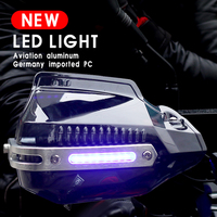 Motorcycle Windproof handguards Glowing Accessories For honda cbr 1000rr v strom 650 dl honda holder motorcycle benelli trk502