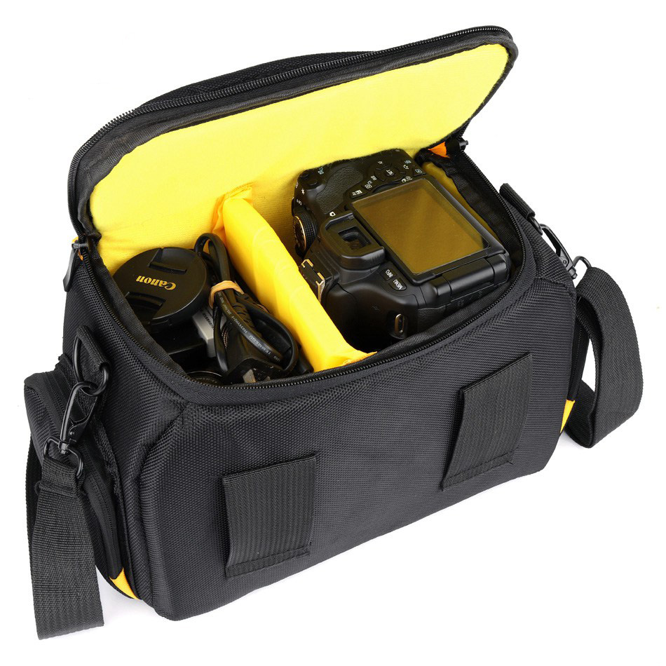Waterproof DSLR Camera Bag Photo Case For Nikon D5600 D5300 D5500 D3400 D3300 D3100 D750 D7200 D7100 D7500 P900 D810 Nikon Bag image