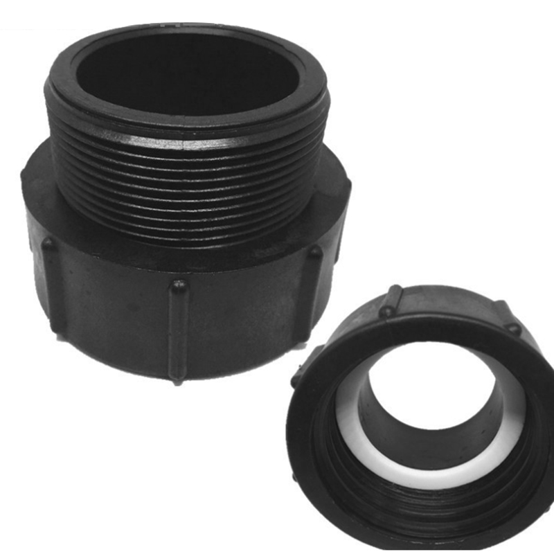 275 330 Gallon IBC Tote Tank Drain Valve Adapter 2