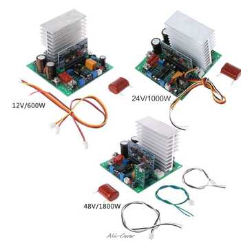 Pure Sine Wave Power Frequency Inverter Board 12/24/48V 600/1000/1800W Finished Boards For DIY - DISCOUNT ITEM  18 OFF Home Improvement