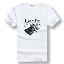 summer tops shirt cotton short sleeve Game of Thrones Men T-shirt casual men tshirt