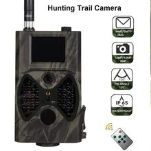 лучшая цена Suntek HC300M Hunting Camera GSM 12MP 1080P Photo Traps Night Vision Wildlife infrared Hunting Trail Cameras hunter Chasse scout